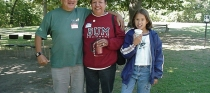 Wigwamen Tenant Picnic 2001&lt;!--bill-woman-and-girl--&gt;