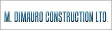 M. Dimauro Construction Ltd logo