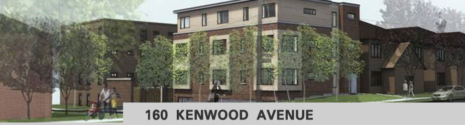 Architect's rendering of 160 Kenwood Avenue