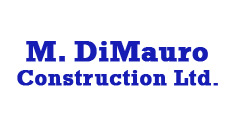 M DiMauro construction limited logo