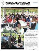 Wigwamen August 2015 newsletter