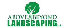 Above & Beyond Landscaping Logo