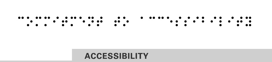 commitment to accessibility header