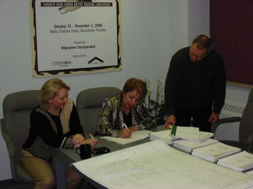 Sewells Road - Contract Signing