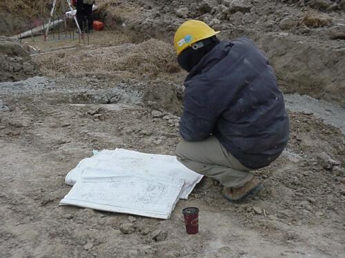 Sewells Road Construction, Jan 2004 - Mar 2004
